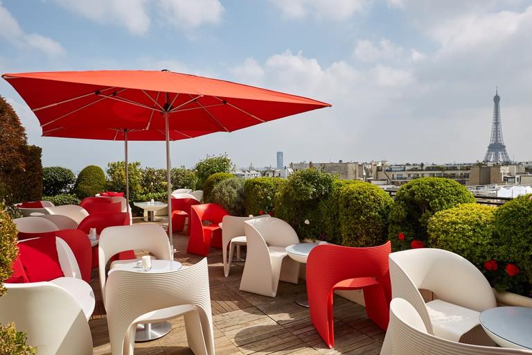 Terrasse Champagne Bar, Hotel Raphael Paris