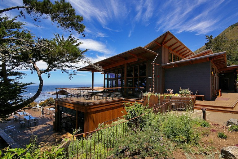 Lodge at the Esalen Institute.