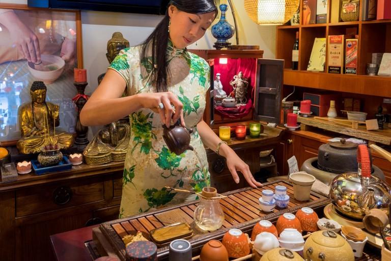 Traditional tea ceremony at Zensation © Zensation Tea House