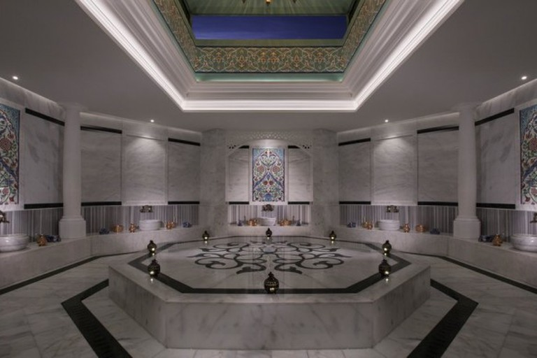 Sophisticated hammam at Anantara Spa on The Palm