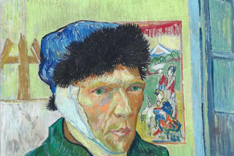 Vincent van Gogh (1853 – 1890), Self-Portrait with Bandaged Ear, 1889