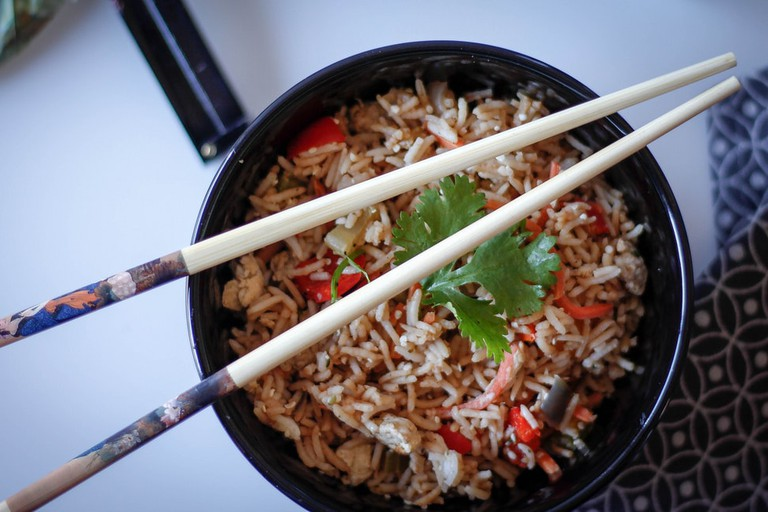 Vegetarian fried rice © Marco Verch/Flickr