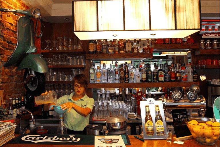 Always busy at Vespa Bar