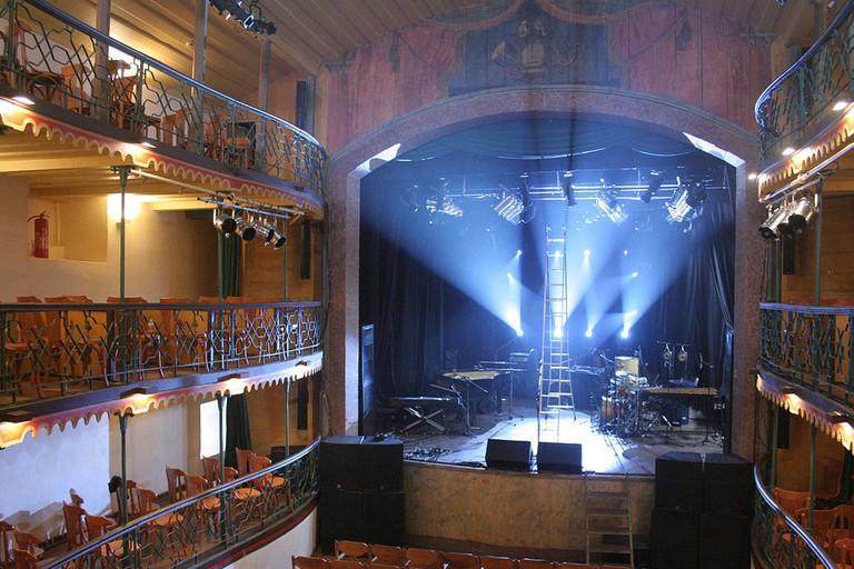 The Municipal Theater in Ouro Preto