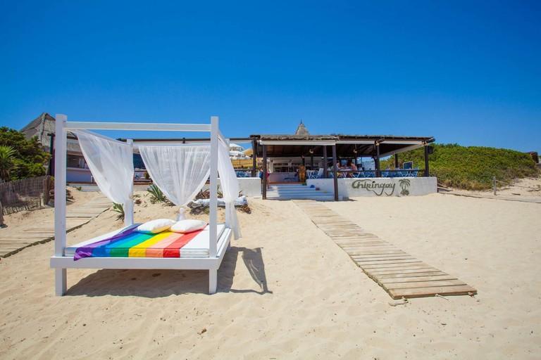 Beachlife at the Chiringay