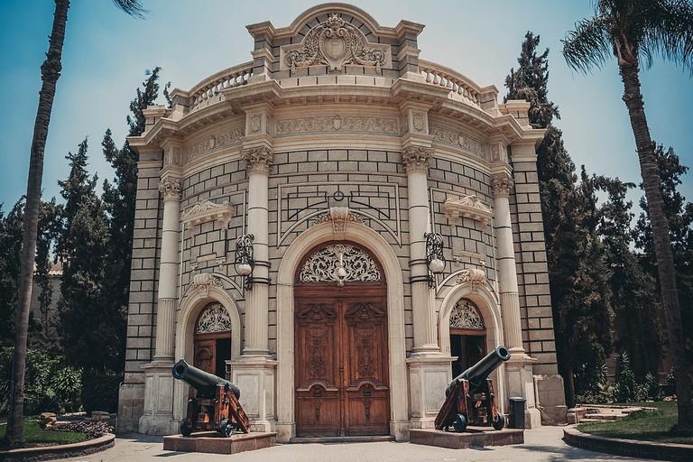 Abdeen's Palace inside gate, Cairo