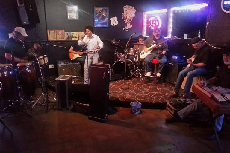 Live musical performances are a staple at The Goat