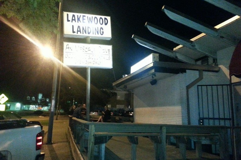 Lakewood Landing is a local dive in the Lakewood area of Dallas