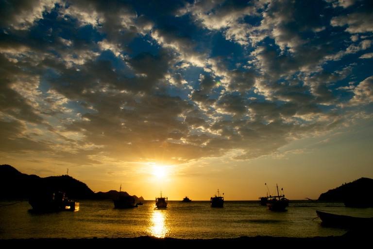 Sunset from Taganga beach