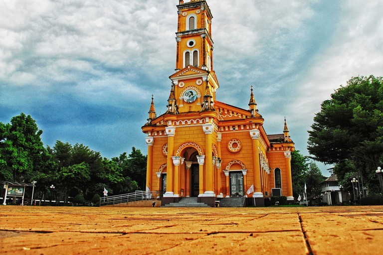 Church in Ayutthaya