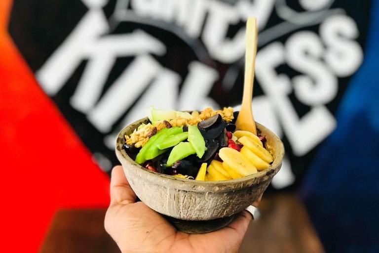Natural fruit bowl