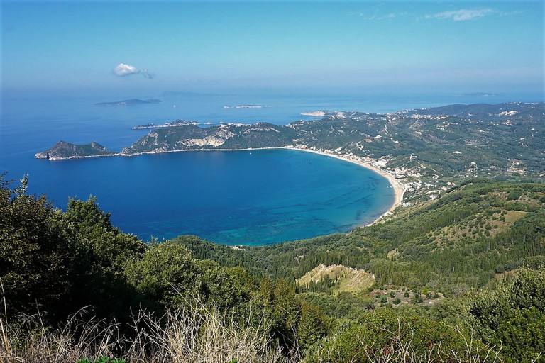 Agios Georgios Pagon Bay, in Kerkyra (Corfu)