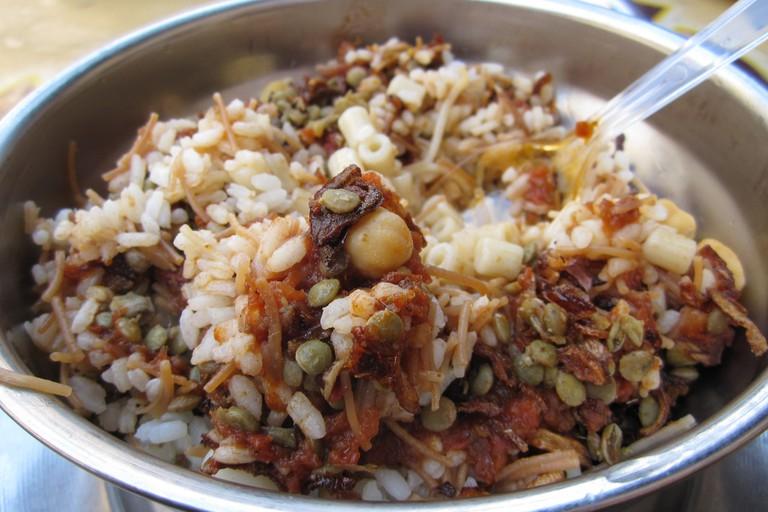 Koshary plate