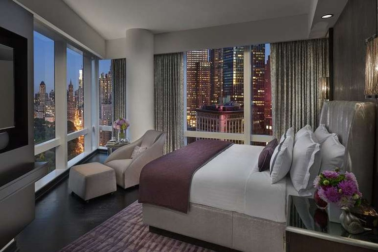 The Mandarin Oriental is a high-end New York City hotel