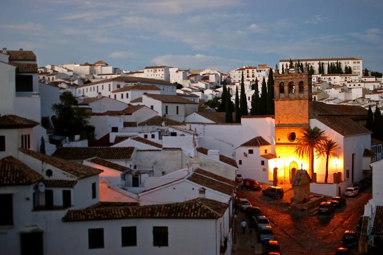 The rooftops of La Ciudad, Ronda's oldest quarter