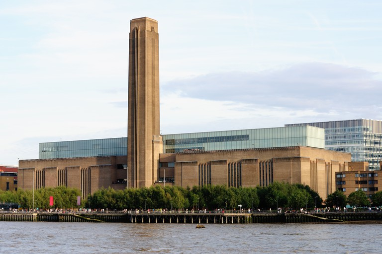 Tate Modern, national museum of international modern art, the disused Bankside power station, London, England, UK, Europe