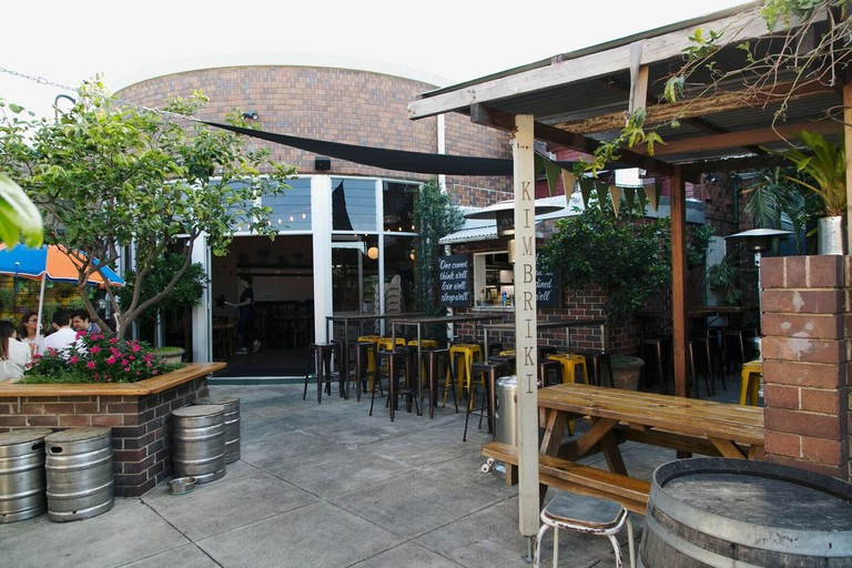 Beer garden at the Henson © The Henson