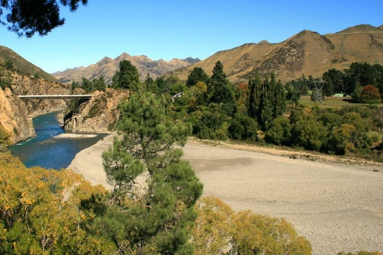 Bridge over the Waiau