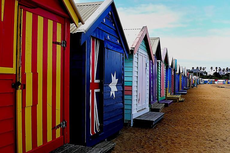 Brighton Bathing Boxes © Bernard Spragg NZ / Flickr