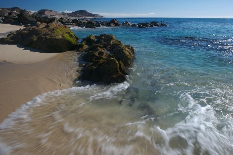 A Los Cabos beach