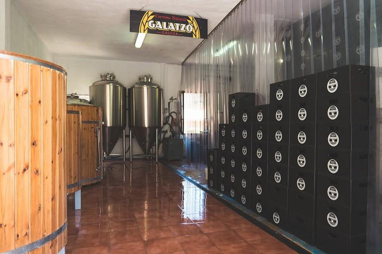 Brewery at Cas Cerveser