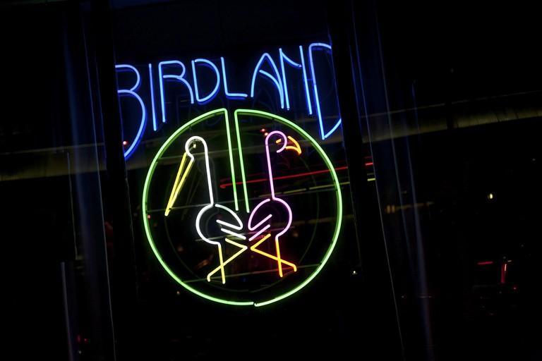 Birdland bills itself as the 'jazz corner of the world'