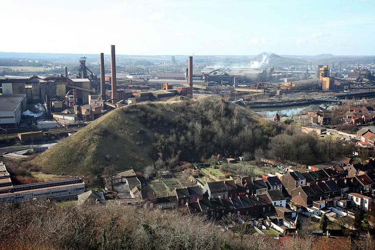 Charleroi-industrie-terril-paysage-Christophe-Vandercam
