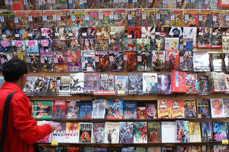 Comic Stores Ronda is the town's best shop for comics
