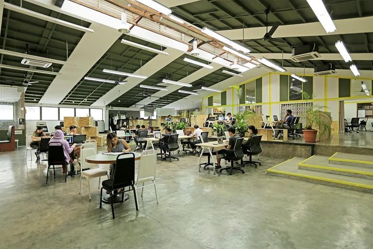 Interior of Uppercase Bangsar