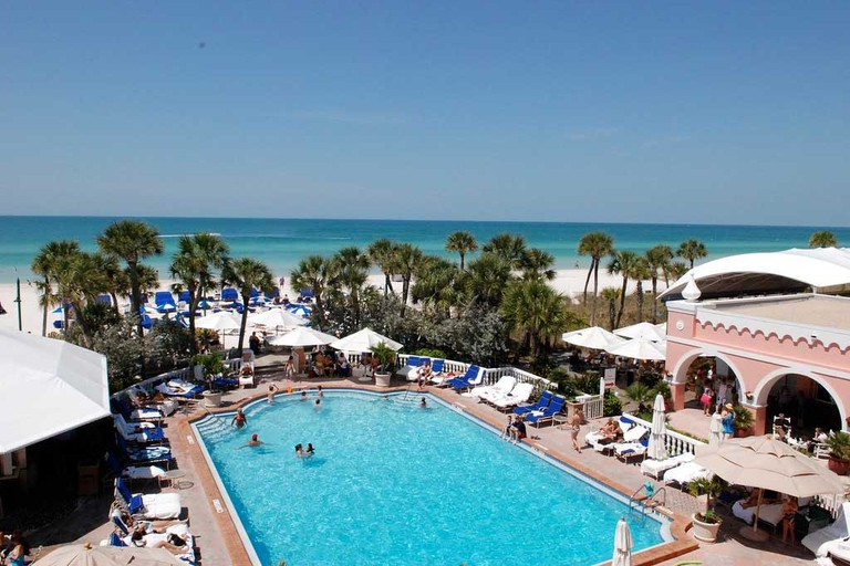 Pool at the Don Cesar Hotel, St Pete