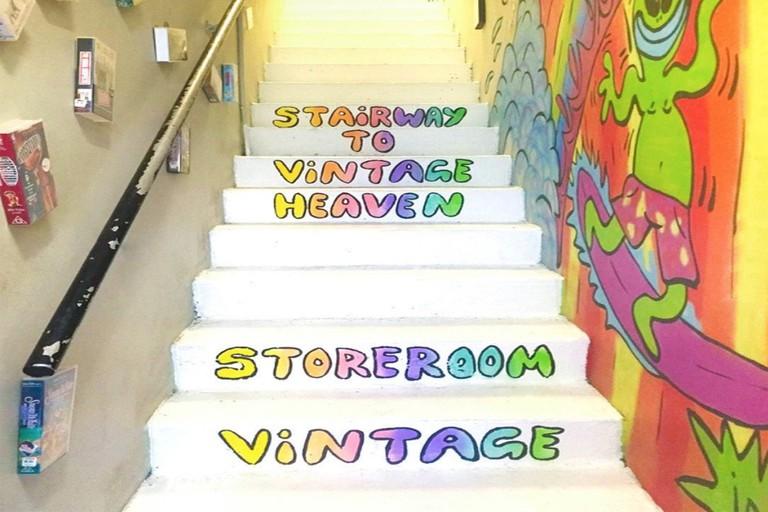 Entry to Storeroom Vintage © Storeroom Vintage