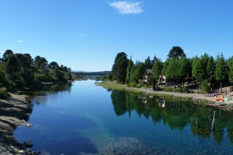 A river in Villa La Angostura