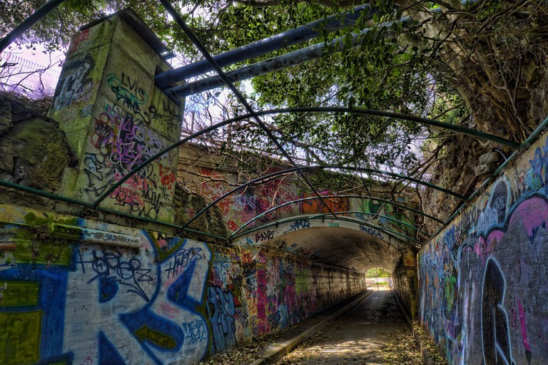 Gladesville Mental Hospital tunnel under Victoria Road © Frederick Manning / Flickr