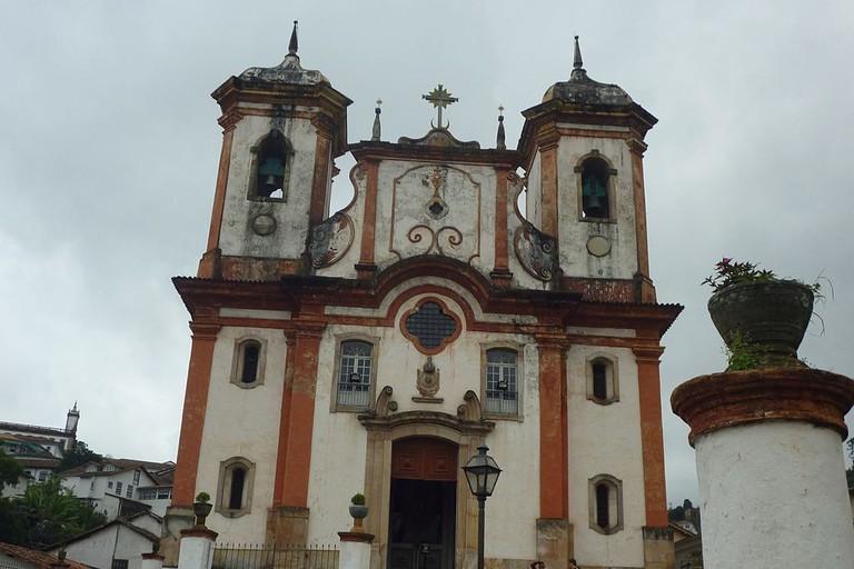 The Igreja Nossa Senhora da Conceição church in Ouro Preto