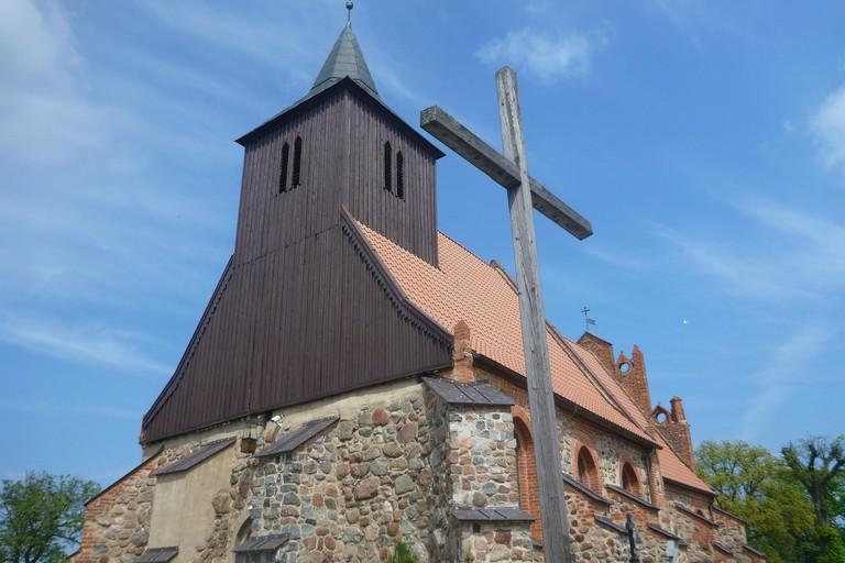 St. Barbara's Church in Kokoszkowy | © Northern Irishman in Poland
