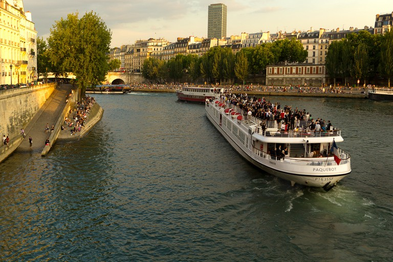 Take a trip on the river with Bateaux Parisiens