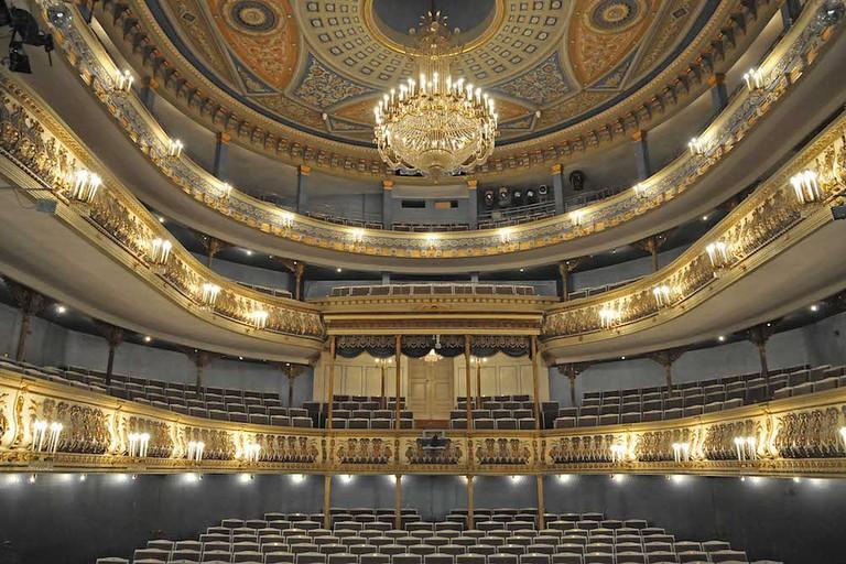 Zuschauerraum des Landestheaters Coburg