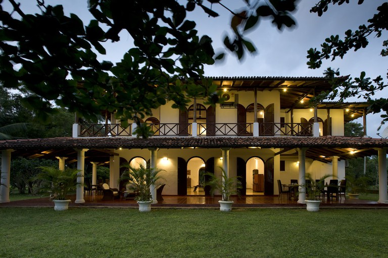 Oceans Edge - The villa at dusk