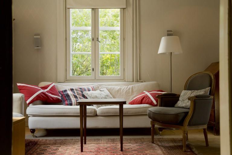 Helsinki Airbnb located in a villa.