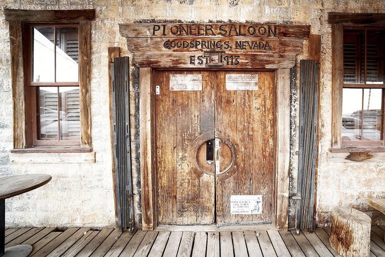 Pioneer Front door