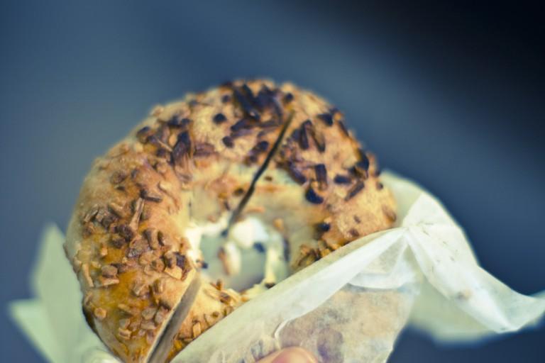 Seedy bagel