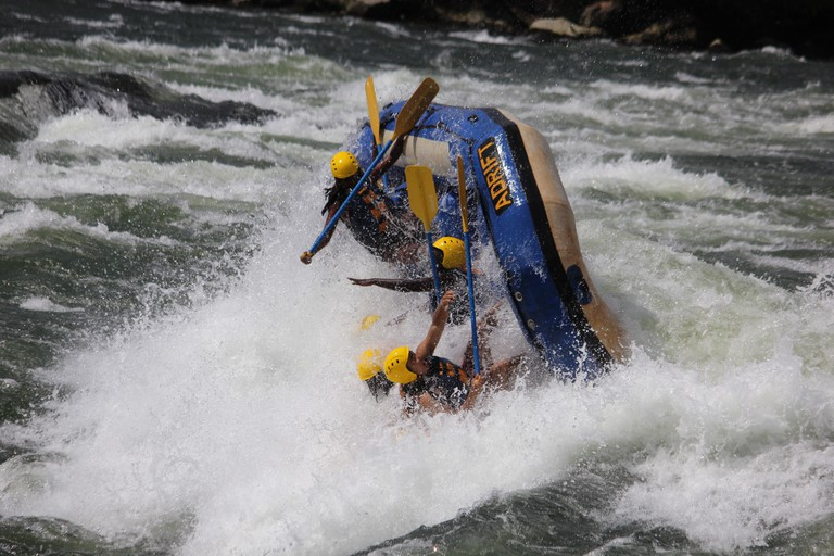 Rafting River Nile