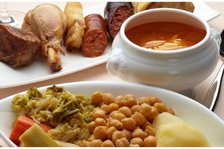 Restaurante As de Picas, Gijon, Fabada Asturiana