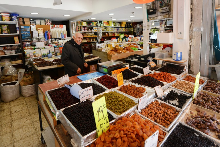 The Levinsky Spice Market is Tel Aviv's Florentin neighbourhood