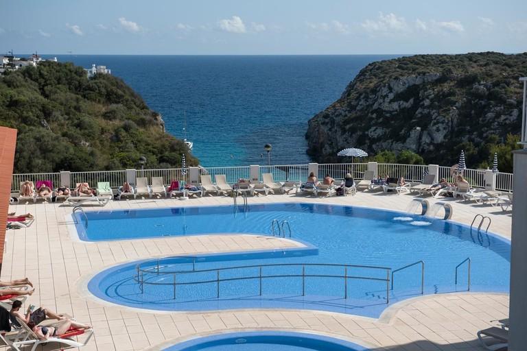 Pool at the Hotel Playa Azul