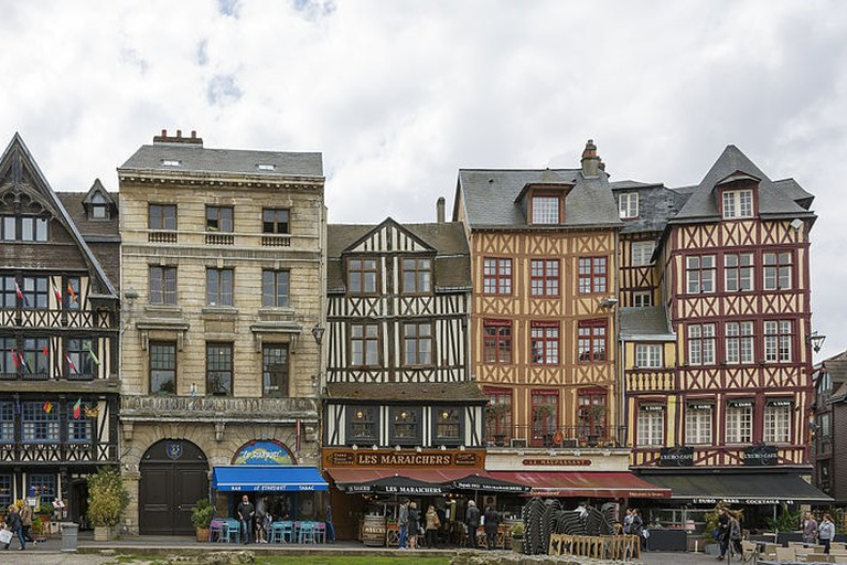 Rouen France Market Square