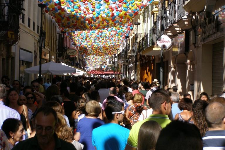 Ronda's September fair is a giant street party