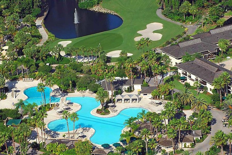 Saddlebrook Resort Pool, Wesley Chapel, Florida