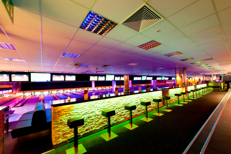 Berolina Bowling Lounge is stylish and modern