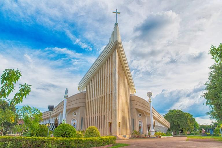 St. Michael's Cathedral, Sakon Nakhon,Thailand